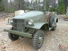 ww2 military vehicles dodge wc 6 command car 1 2 half ton ww2 army military power wagon jeep