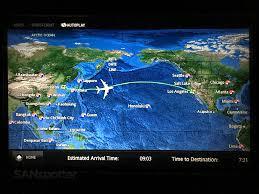 Korean Air Route Map by Korean Air A380 800 Prestige Class Business Class Seoul To Los