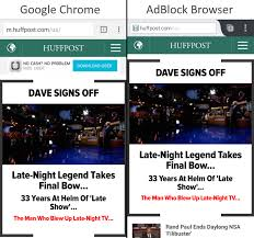 ad blocker for android chrome adblock plus releases a standalone android browser we put it to