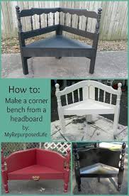 How To Make A Small Bench Best 25 Corner Bench Ideas On Pinterest Corner Bench Table