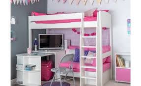 High Sleeper With Desk And Futon Children U0027s High Sleeper Beds Room To Grow