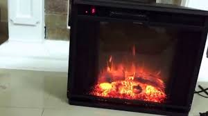 review moda flame 23 led electric fireplace