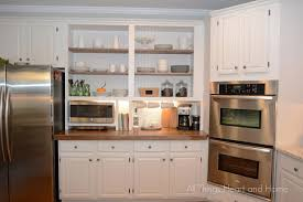 appliance cabinets kitchens built in cupboard w a microwave cubby hometalk