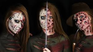 freddy vs jason makeup tutorial clothes painted on youtube