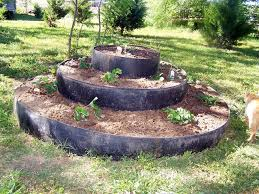 Strawberry Garden Beds Our Strawberry Bed U2014recycled Round Baler Belts