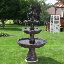 tiered outdoor fountains free shipping on all courtyard fountains