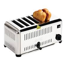 Catering Toaster Buffalo 6 Slice Toaster Cb433 Buy Online At Nisbets