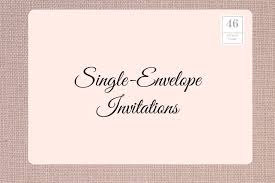 how to address wedding invitations without inner envelope how to address wedding invitations with guest and no inner