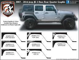 jeep jku side jeep wrangler jk u2013 streetgrafx
