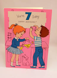 birthday card for 7 yr old 10 childrens birthday party