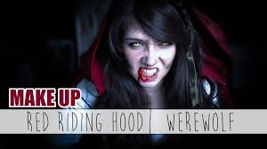 Little Red Riding Hood Makeup For Halloween by Halloween Make Up Red Riding Hood Werewolf Sayuri Shinichi