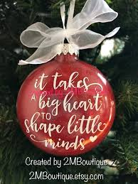 ornament gift it takes a big to shape