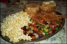 the brown thanksgiving feast popcorn jelly beans