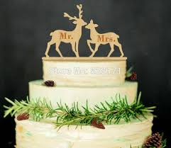 buck and doe cake topper wooden cake toppers shop wooden cake toppers online