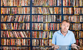 with world s largest dvd collection can t find a thing to