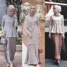 model baju model baju muslim kebaya modern 2018 fashion terbaik desain