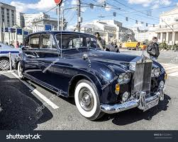 classic rolls royce phantom moscow russia april 24 2016 english stock photo 412239811