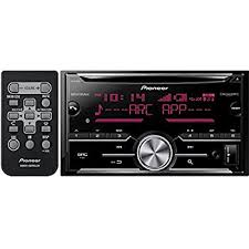 amazon com pioneer fh x720bt 2 din cd receiver with mixtrax and