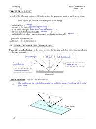 chapter 5 light teacher u0027s guide lens optics refraction