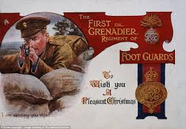 first world war christmas cards give a glimpse of life on the