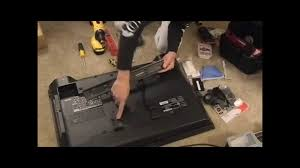Wall Mount 47 Inch Tv How To Mounting A Tv On The Wall Youtube