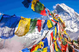 Tibetan Flags Bring The Best Souvenirs From Leh City Village News
