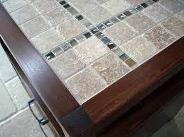 tile table top design ideas rhyan end table or nightstand modified with a tile top do it