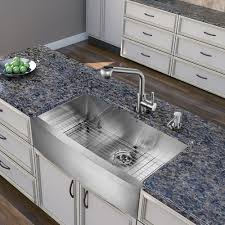 vigo stainless steel pull out kitchen faucet vigo vg02019st universal stainless steel pullout spray kitchen