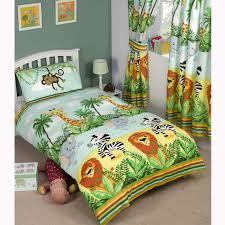 Dinosaur Single Duvet Set Junior Toddler Duvet Cover Sets Cot Bedding Unicorn Dinosaur Solar