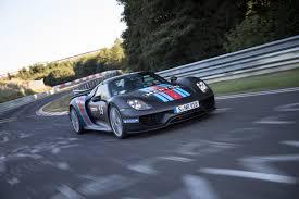 Porsche 918 Front - porsche 918 spyder hybrid breaks 7 minute record at nurburgring