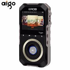 android audio player aigo hifi portable mp3 audio player metal wooden back android