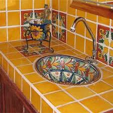 Mexican Tile Bathroom Designs Bathroom Look At That Sink Decorating With Talavera Tiles