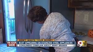 why do stainless steel appliances rust youtube
