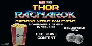 thor ragnarok opening night fan event showplace icon on twitter 11 3 see opening night fan event