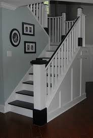 painted wood stair remodel remodelaholic com stair remodel
