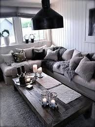 home decor black and white living room gray living rooms rustic home decor room cozy modern