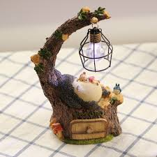 anime totoro leisurely night light decorations creative gifts