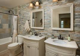 Bathroom With Stone 40 Warm Stone Bathroom Design Ideas That You Will Instantly Fall For