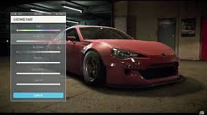 subaru brz custom paint the b team need for speed review