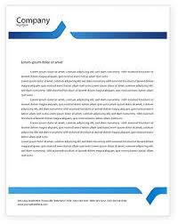 microsoft office business letterhead template