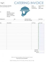 Service Invoice Template Pdf Download Catering Invoice Template Excel Rabitah Net