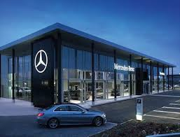 mercedes corporate mercedes aims for brand consistency as it revs showrooms
