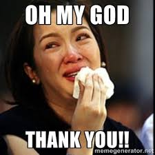 Thank God Meme - thank you funny crying meme picture entertainmentmesh