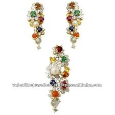 new gold set new design gold pendant set color gemstone jewelry design 2013