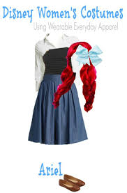 Ariel Mermaid Halloween Costume Diy Ariel Mermaid Halloween Costume Adults Style Main