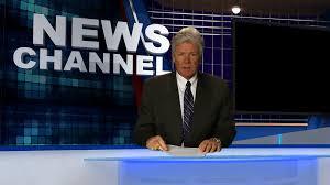 News Studio Desk by Tv News Anchor At Desk Stock Video Footage Videoblocks