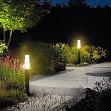 Landscape Bollard Lights Garden Outdoor Lighting Ideas For Your Paradise Outdoor