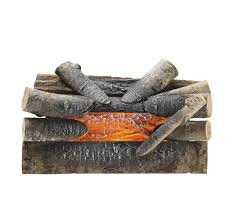 pleasant hearth electric crackling log ghp group inc