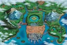 Real World Map How Pokemon U0027s World Was Shaped By Real World Locations Polygon