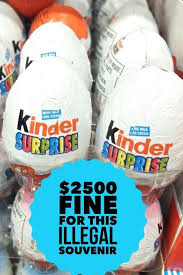 candy kinder egg why are kinder eggs illegal in the usa quora